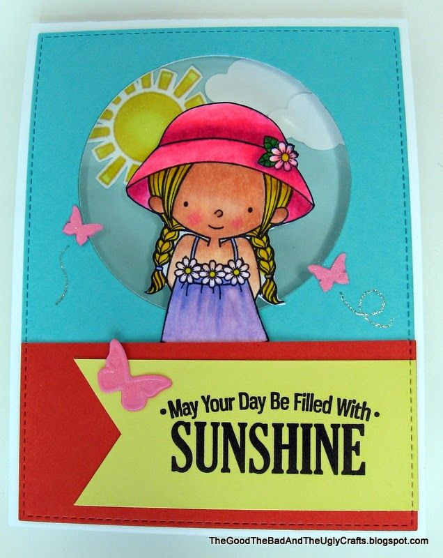The Good, The Bad & The Ugly Crafts: Sunshiny Birthday Wishes - MFT Everyday is a Picnic