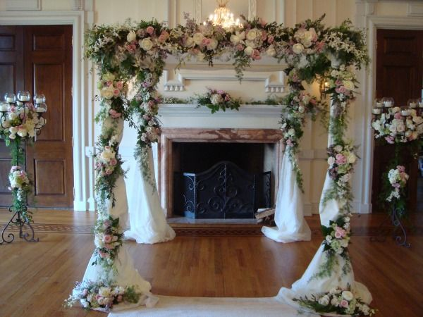 jewish wedding chuppah for sale lush floral chuppah huppah by in full bloom mazelmoments. Black Bedroom Furniture Sets. Home Design Ideas