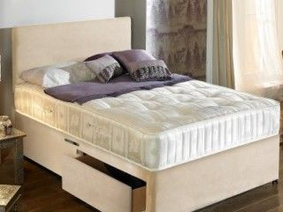 Majestic 1000 Pocket Sprung Storage Divan Set With Headboard