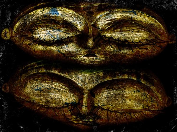 Doble Sueño.  30x40 cm.  Escultura, fotografía y edición digital