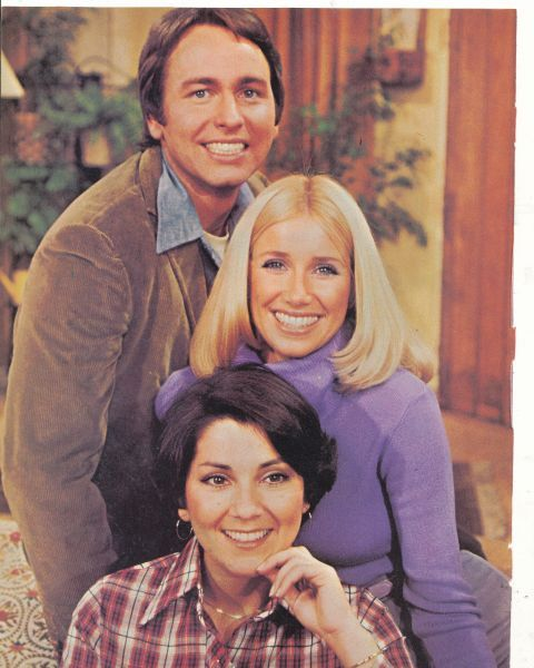Come & knock on our door...Three's Company with John Ritter, Suzanne Somers, and Joyce DeWitt
