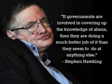 Stephen Hawking. He is so funny