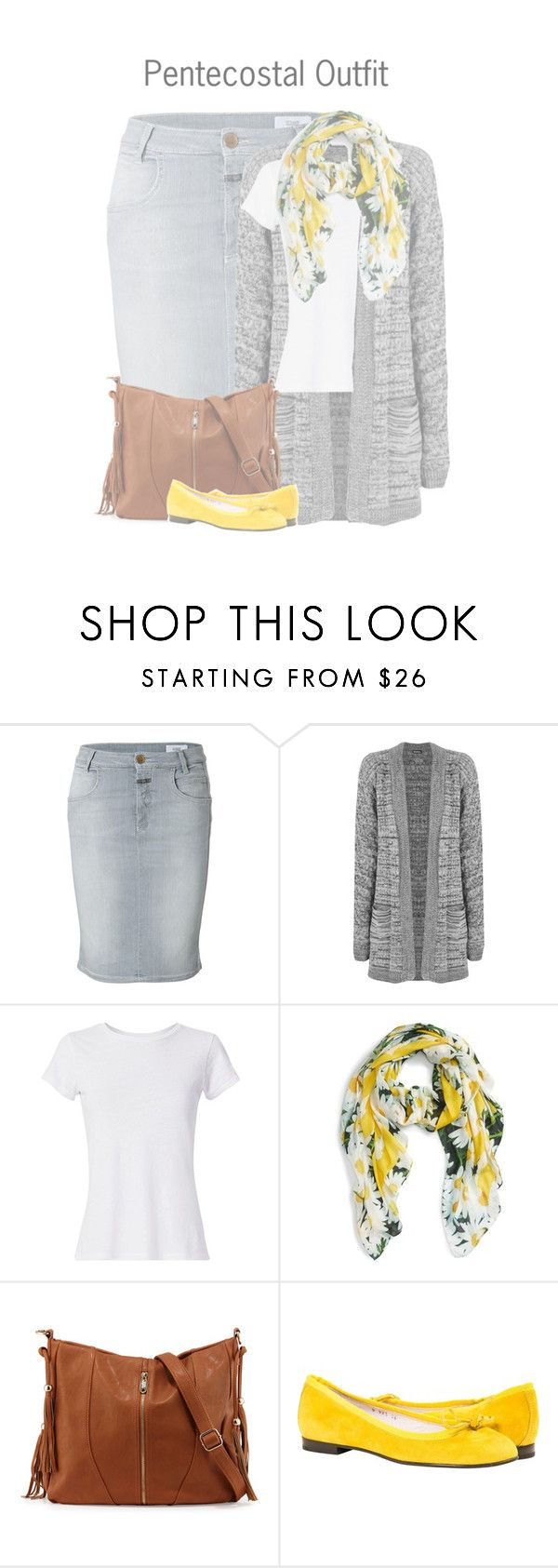 """Pentecostal Outfit"" by kateremington-1 ❤ liked on Polyvore featuring Closed, WearAll, Hanes, Kate Spade and Urban Originals"
