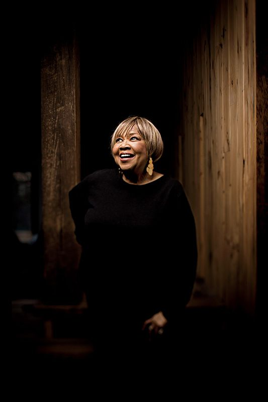 After more than six decades in the spotlight, Mavis Staples is still one of music's most soul-stirring voices. Photo by Chris Strong.