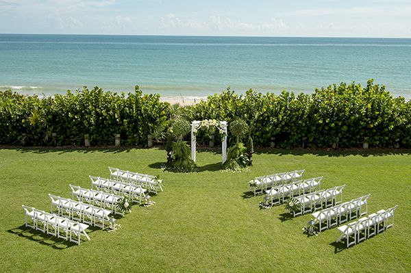 This Gorgeous Wedding Ceremony At Disney S Vero Beach Resort Had Us Hello Location Spotlight Pinterest And