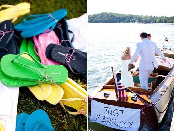 basket full of flip flops for guests at a beach wedding... genius touch!: Farms Wedding, Farm Wedding, Beach Weddings, Beaches Wedding, Garden Weddings