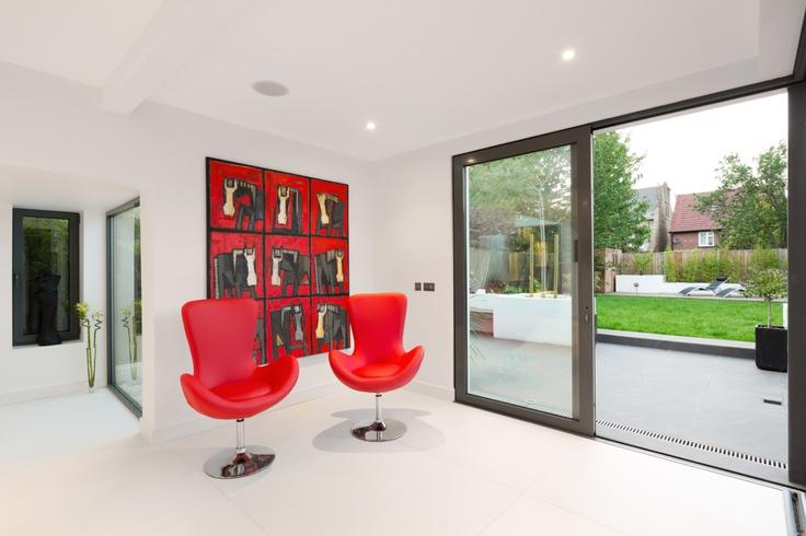 Bespoke aluminium glazing by Sunparadise UK www.sunparadise.co.uk