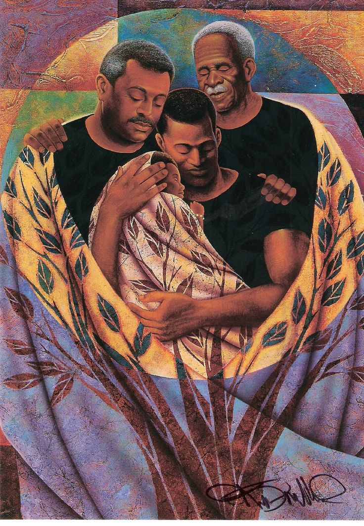 Keith Mallett (b.1948)   —  Strong Roots   (1107x1600)