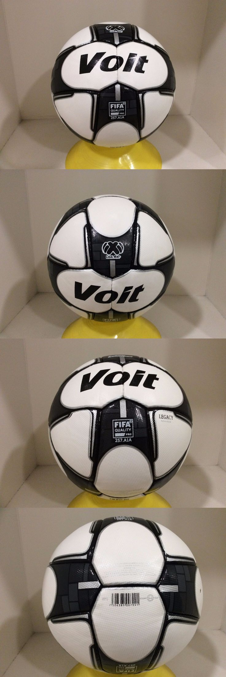 Balls 20863: Voit Soccer Ball Legacy Official Match Ball Size 5 Liga Mx 2016/17 Balon Oficial BUY IT NOW ONLY: $59.99