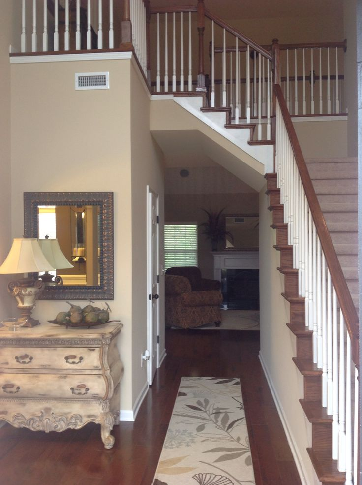 Model Home Foyer Pictures : Entry foyers should be inviting this open story foyer