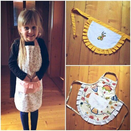 Kids aprons for little girls