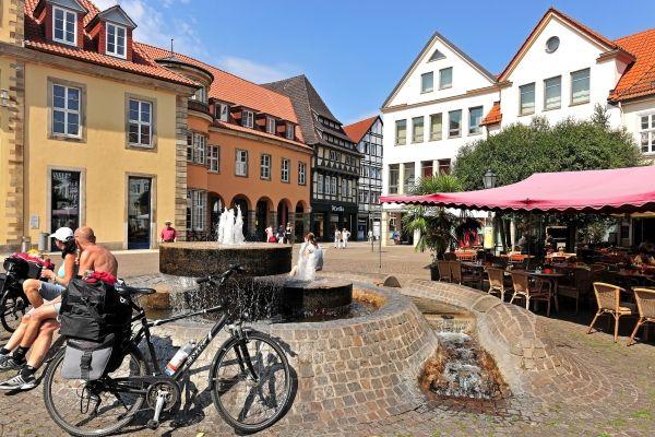 Schitterende fietstochten langs de Weser in Duitsland