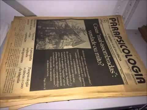 BIBLIOTECA DE PARAPSICOLOGIA DO PADRE QUEVEDO