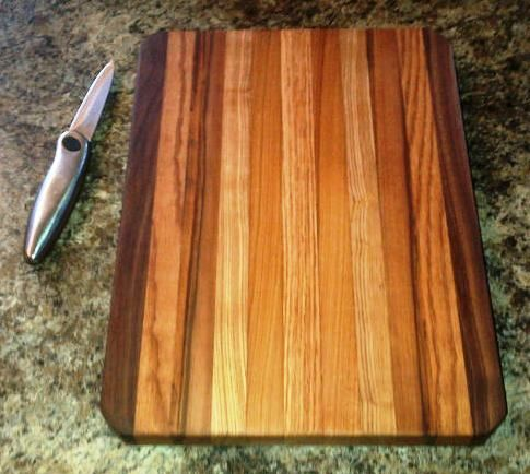 Another new Cutting Board from the Joe O' Woodshop.