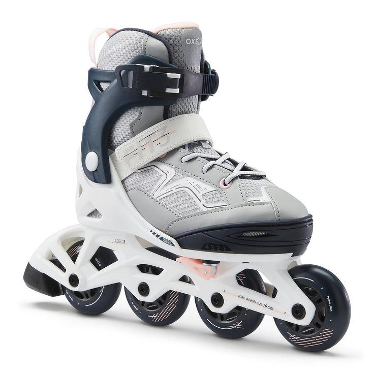 Oxelo Fit 3 Inline Fitness Skates Kids 6 To 12 Years In 2021 Skate Fits Long Skate Kids Skates