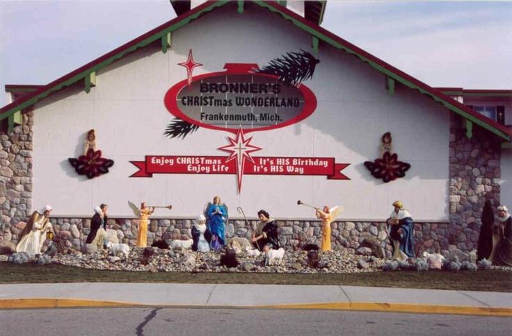 Bronners CHRISTmas Wonderland, Frankenmuth, MI