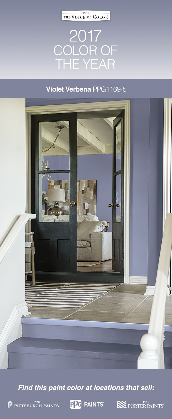 44 best 2017 paint color of the year - violet verbena images on