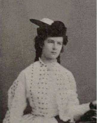 Vrij onbekende foto van keizerin Elisabeth.
