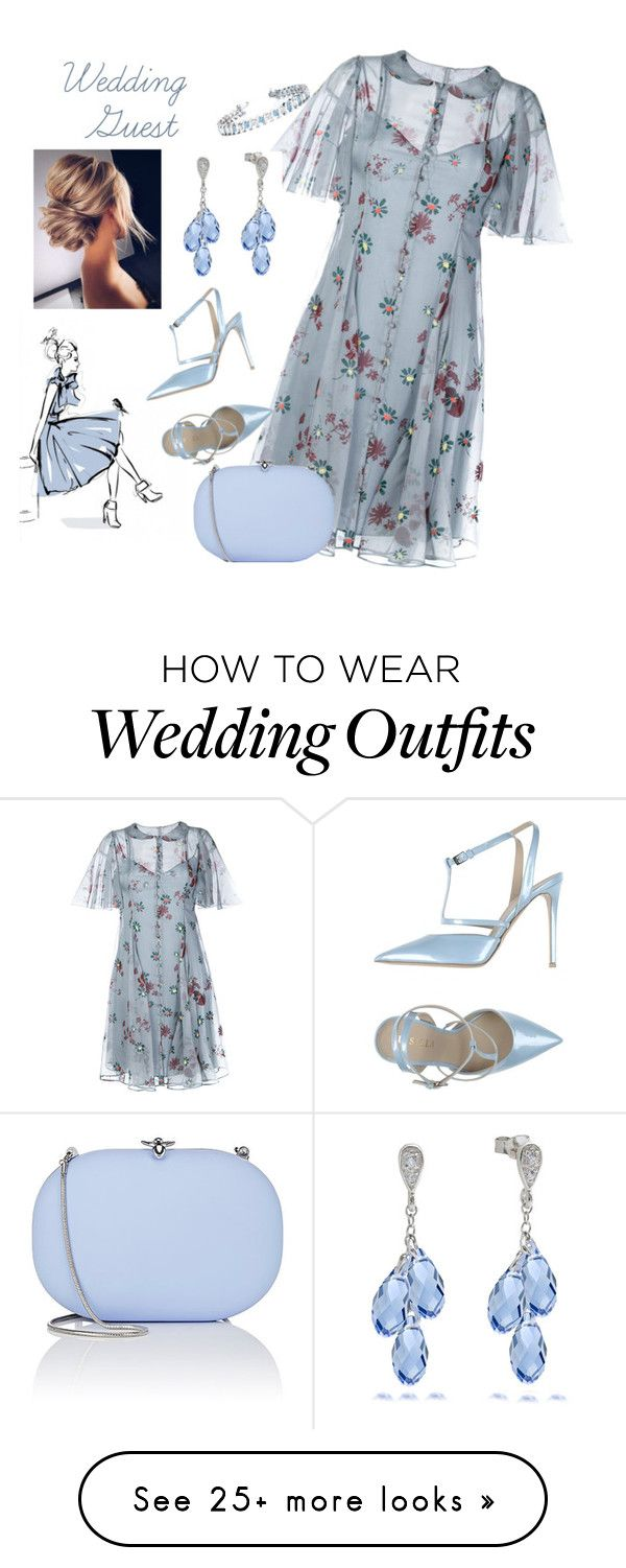 """Wedding Guest Contest"" by lensesrmything on Polyvore featuring Valentino, Le Silla, Jeffrey Levinson, Allurez, WeddingGuest and summerwedding"