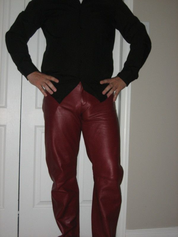 Leather pants unlined