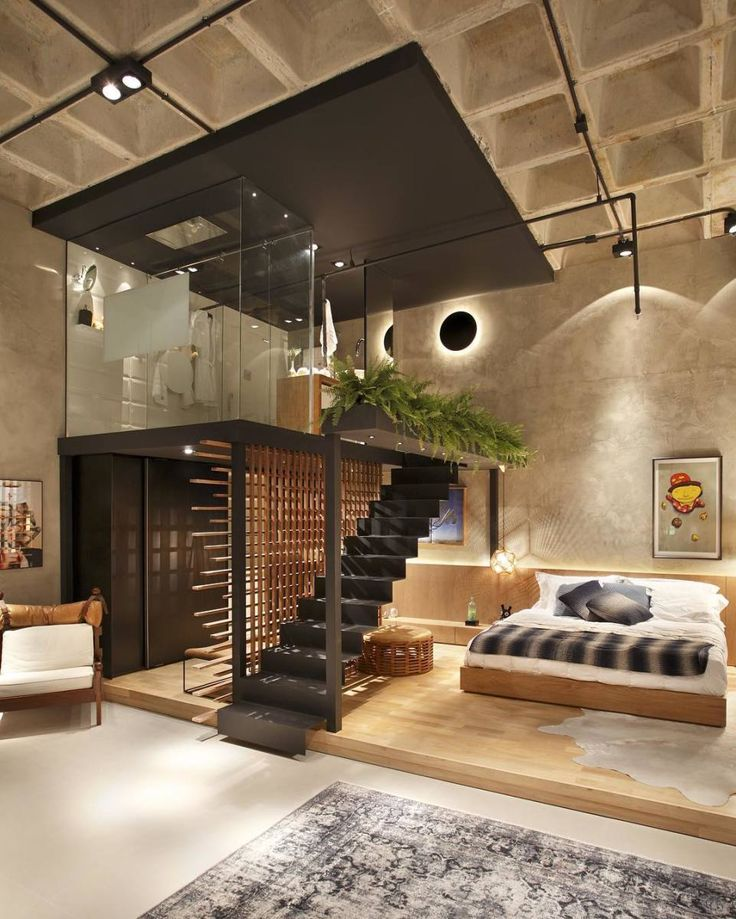 Minimal Interior Design Inspiration. 25  Best Ideas about Loft Interior Design on Pinterest   Loft