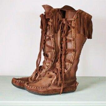 Mocassin boots