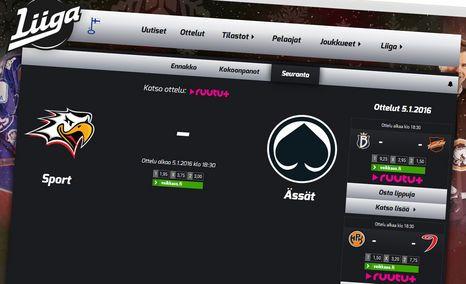 Liigan tulospalvelu jäi hakkerihyökkäyksen uhriksi