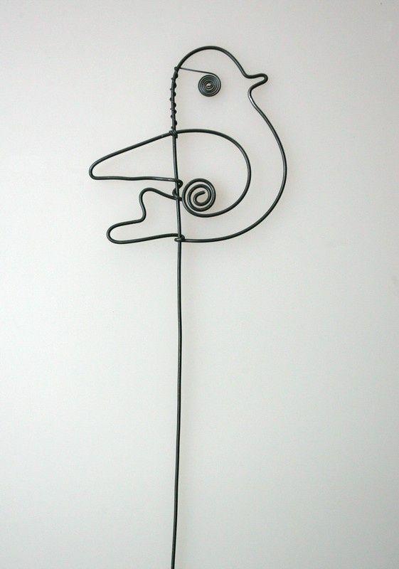 Zuzana Dostálová vtáčik drôtený