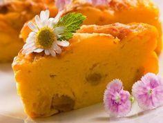 Пирог из тыквы с апельсинами и коньяком