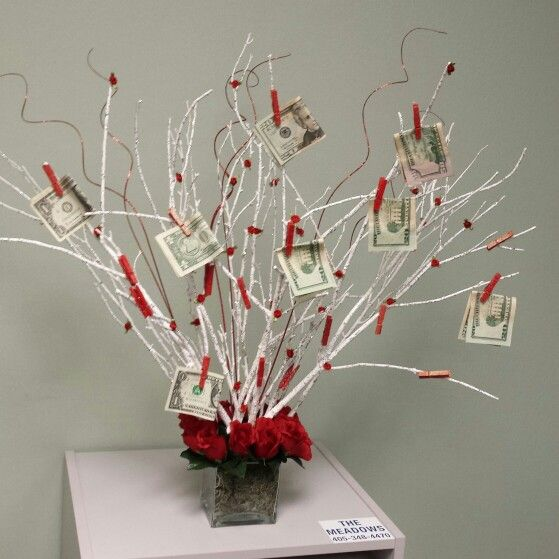 77 best party ideas images on pinterest money trees money tree money tree made as gift negle Choice Image