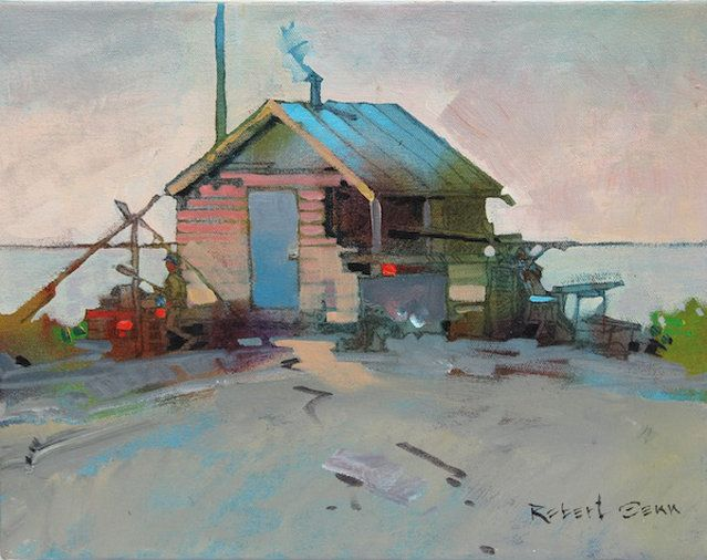 Recognized as one of Canada's most accomplished painters, Robert Genn's work has become well known internationally. Genn is showcased at the mountain galleries.