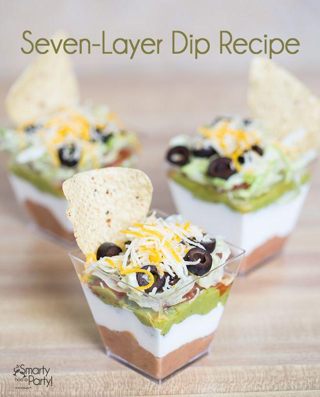 A Taste of Cinco de Mayo: Seven-Layer Dip Recipe | Smarty Had A Party
