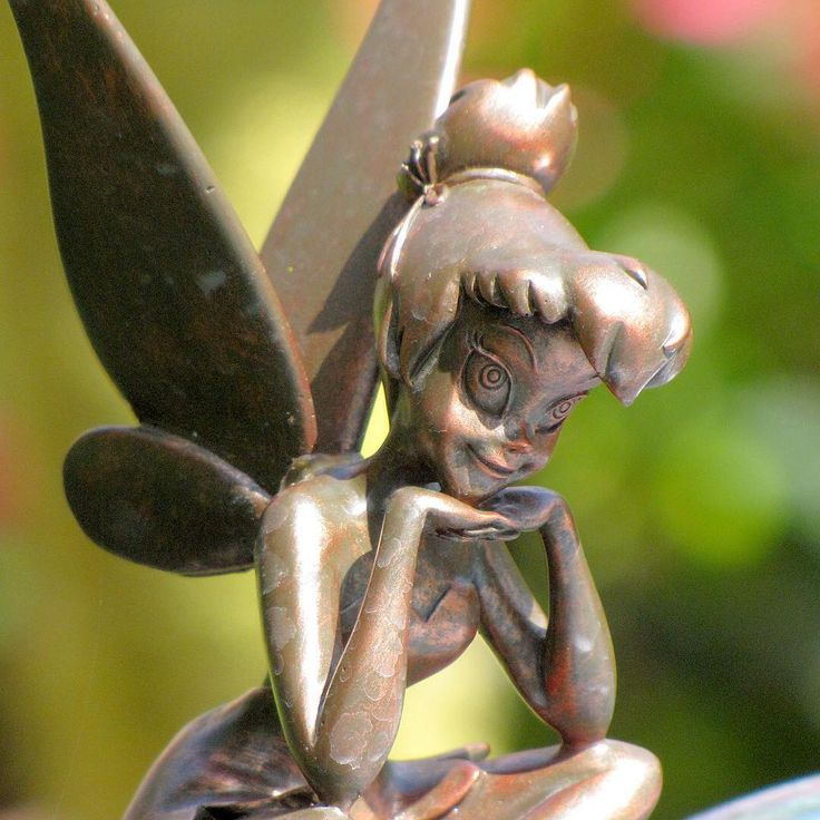Tinkerbell statue at walt disney world epcot disney pinterest epcot tinkerbell and walt - Tinkerbell statues ...
