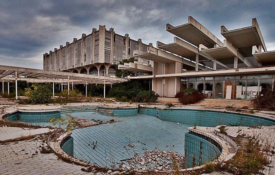 """This huge resort opened in 1972. Some 45 million US dollars were invested in this particular venture. The Penthouse Adriatic was a more-than-rarefied rendezvous for the sophisticated and appreciative traveler who demanded the kind of cosseting that only Penthouse did understand and provide. But in view of the """"Croatian War of Independence 1991-1995"""", a protracted war that smashed completely the tourism, this resort, like many others became abandoned/bankruptcy."""