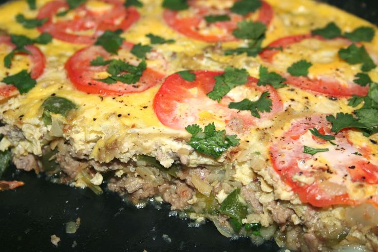 Spanish Frittata with Chorizo from Against All Grain