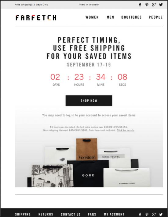 98 best countdown timers in emails images on pinterest countdown timers email marketing and. Black Bedroom Furniture Sets. Home Design Ideas