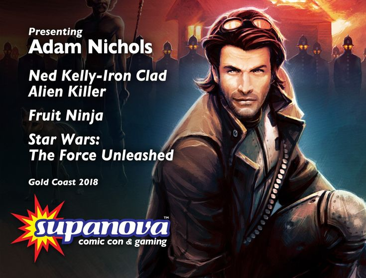 Adam Nichols is a Concept Artist, Illustrator, and Art Director, and he's joining us for Supanova 2018 - Gold Coast!   For more info on Adam, including appearance details, visit ---> http://supa.fans/ANichols