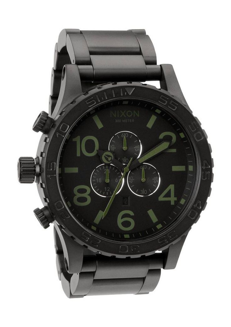 Nixon The 51-30 Matte Black/Surplus