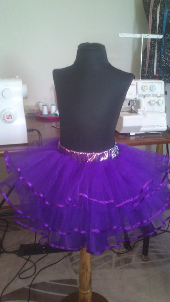 Girls tutu skirt.Tutu skirt for girls purple.Tutu.Skirt.
