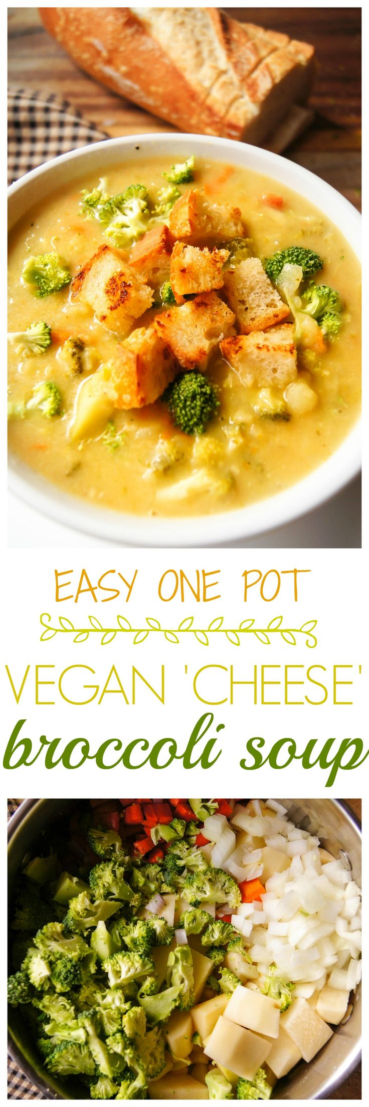 love comfort food but I'm also a health nut and this easy vegan broccoli soup hits the jackpot. It is very easy to prepare, one pot type of soup. You add all the ingredients and forget about it for 35 minutes then boom, its done. It taste homey, comforting and the perfect healthy meal for a cold day.
