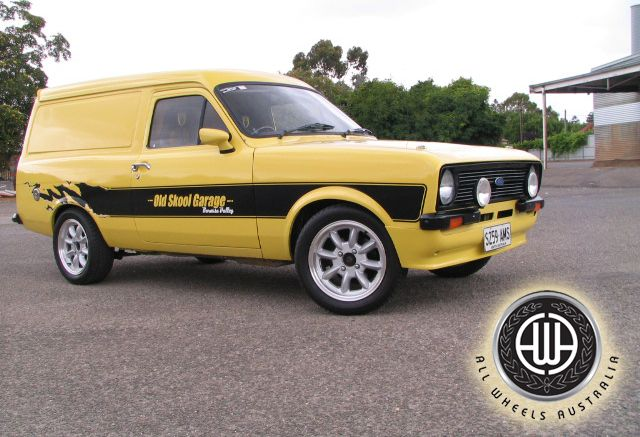 Escort MK1 - Fantastic looking mild custom from Australia