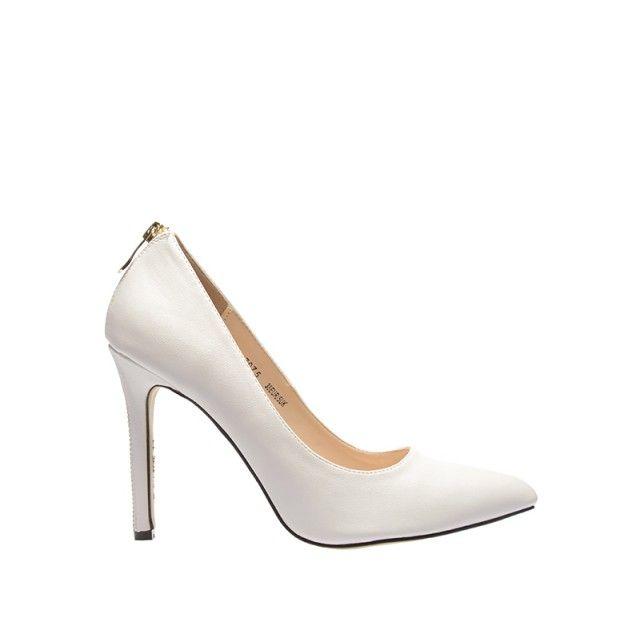 Pantofi Tart Albi (Alb)