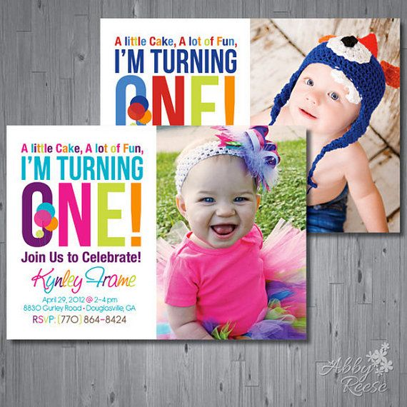 59 best First Birthday images on Pinterest Birthdays, Birthday - invitation card for ist birthday