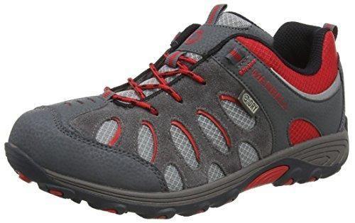 Oferta: 65€ Dto: -42%. Comprar Ofertas de Merrell Chameleon Lace Waterproof, Zapatos de Low Rise Senderismo para Niños, Grey/Red, 31 EU barato. ¡Mira las ofertas!