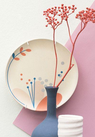 print & pattern: TABLEWARE - engel