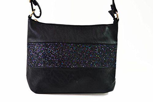Gallantry -sacoche en paillette-sac à bandoulière femme: Trés beau sac bandoulière en paillette devant, pratique et utile au quotidien pour…
