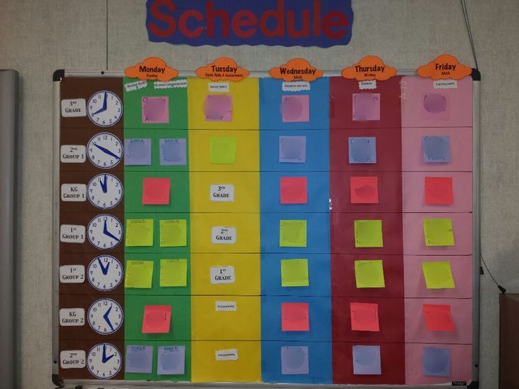 Special Education Classroom Decorations : Images about scheduling ideas for special education