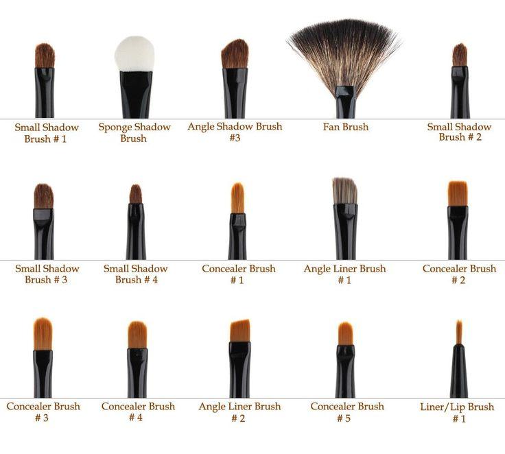 Make-up Brush Cheat Sheet: Pro Makeup, Brushes Sets, Bundle Monsters, Eye Shadows, Cosmetics Brushes, Makeup Brushes, Art Makeup, Make Up Brushes, Beautiful Tips
