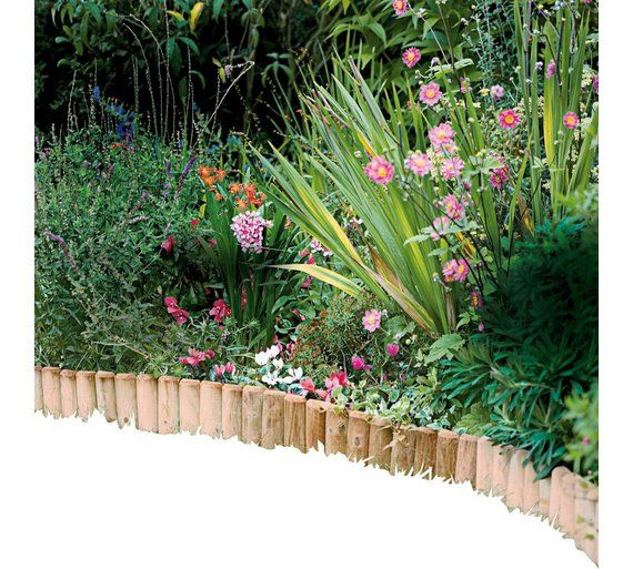 Buy Log Roll Edging - Pack Of 2 at Argos.co.uk, visit Argos.co.uk to shop online for Garden borders and edging, Garden design accessories, Garden decoration and landscaping, Home and garden