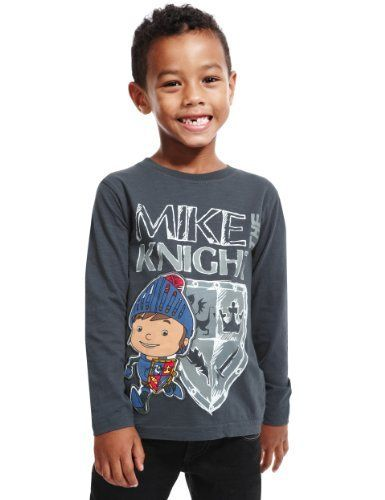 Pure Cotton Mike the Knight T-Shirt - Marks & Spencer
